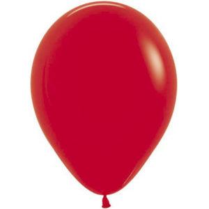 Шар (12''/30 см) Красный (015)