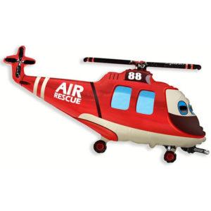 Шар (97 см) Фигура, Вертолет-Спасатель