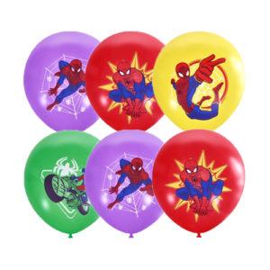 Новинка! Шар (30 см) Дисней, Человек паук / Spider man