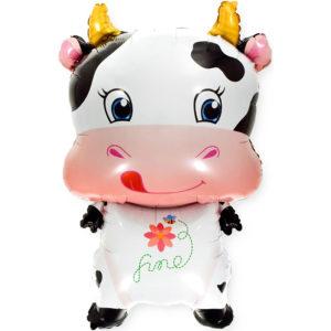 Шар (39''/99 см, CHN) Фигура, Милая корова