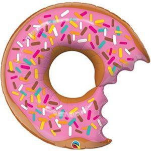 Шар (36''/91 см, USA) Фигура, Пончик, Донат надкусанный