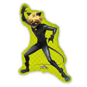 Шар (35''/89 см) Фигура, Супер-кот (Леди Баг)