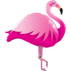 Шар (46''/117 см) Фигура, Фламинго, Розовый (USA)