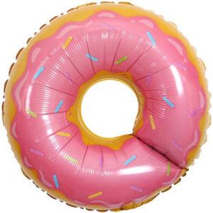 Шар. Пончик, Розовый (29''/74 см, CHN)