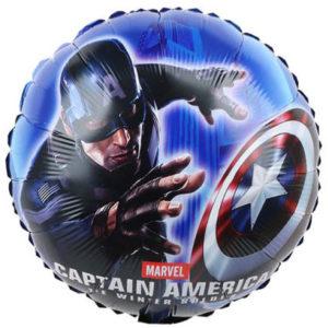 Шар (18''/46 см, CHN) Капитан Америка 2, круг
