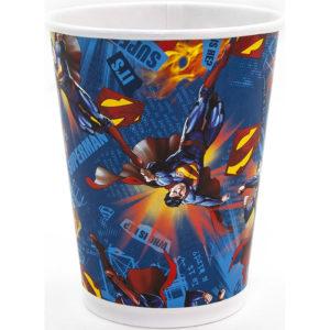 Стаканы (250 мл) Супермен, 6 шт.
