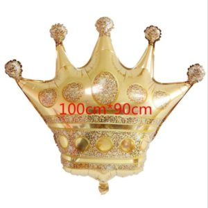 Шар. Корона, золото (100 см, CHN)