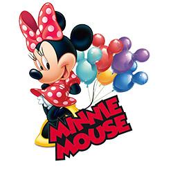 """Воздушные шары """"Минни Маус"""". Коллекция товаров из мультфильма"""
