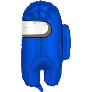 Шар (26''/66 см, RUS) Фигура, Космонавтик, Синий Among Us