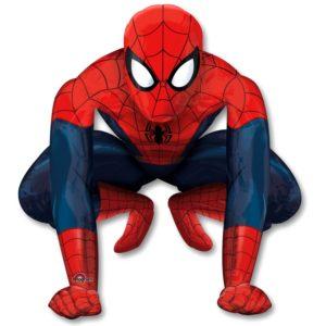 Шар (91*91 см, USA) Ходячая фигура. Человек паук